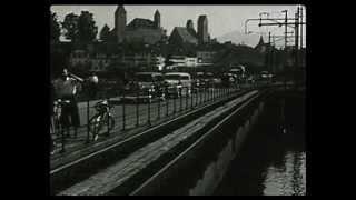 Historische Aufnahmen vom Bau des Seedamms thumbnail