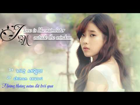[vietsub+kara] IU - Love is like rainwater outside the window