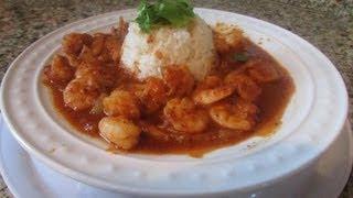 Camarones A La Diabla( Extra Spicy Shrimps Diablo Style)