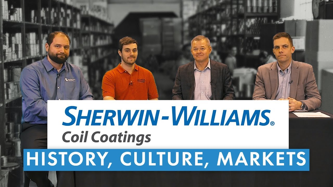 Sherwin Williams History Culture And The Metal Roofing Paint Market