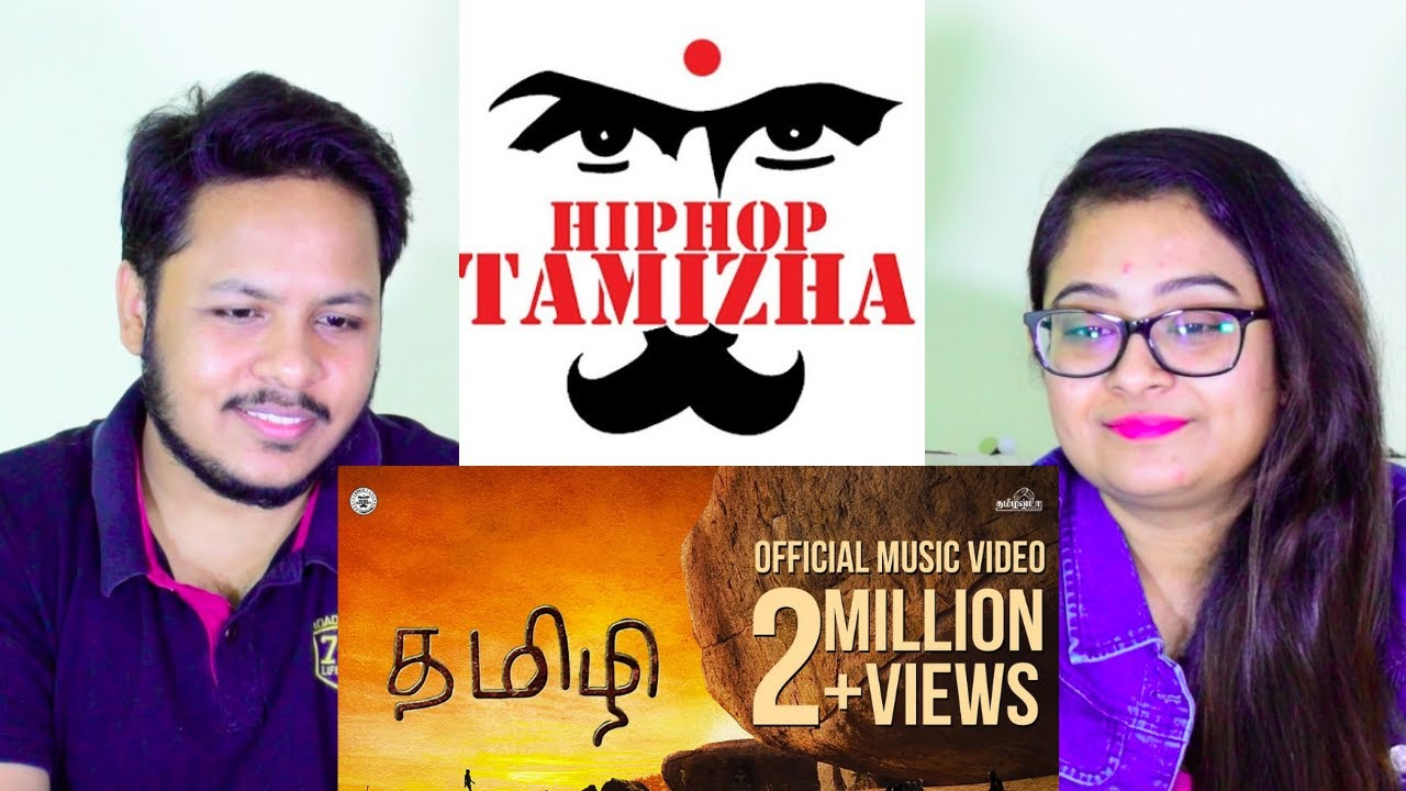 Hiphop Tamizha - #Tamizhi (Official Music Video) | REACTION | Mr. & Mrs. Pandit