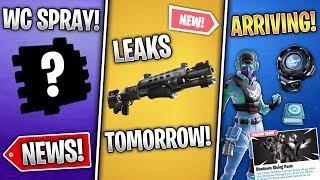Spray Coupe du Monde gratuit, Breakpoint Pack Bientôt, Nouveau fusil de chasse tactique - Fuites demain! - Nouvelles Fortnite