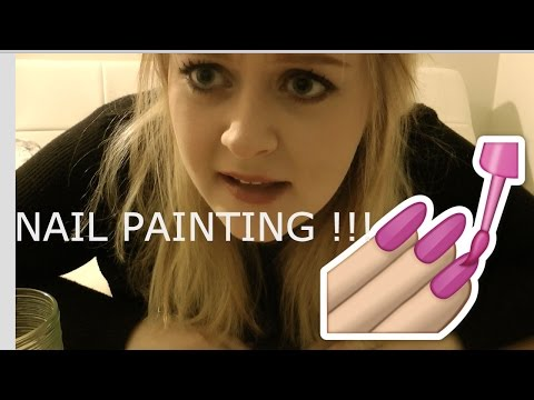 ASMR Painting My Nails with Whispering