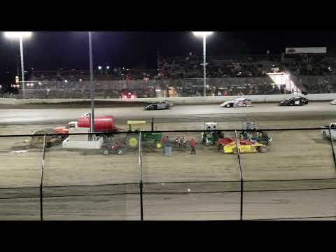 Dustin Beck flip. - dirt track racing video image
