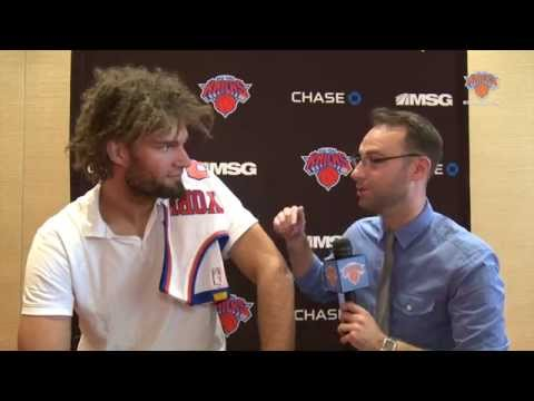 1-on-1 with Robin Lopez: Talking Trash To Brook, Fighting Mascots, Picking Knicks