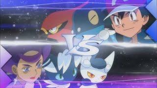 UK: Ash Battles Olympia! | Pokémon tнe Series: XY Kalos Quest | Official Clip