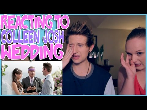 REACTING TO COLLEEN AND JOSH'S WEDDING
