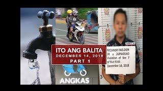 UNTV: Ito Ang Balita (December 14, 2018) PART 1