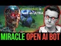 watch he video of Miracle- Shadow Fiend is not Human - He is OpenAI Bot 🤖 Dota2
