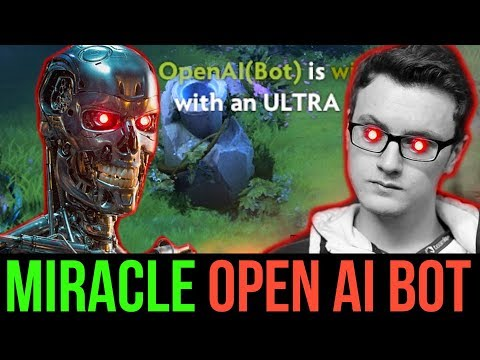 Miracle- Shadow Fiend is not Human - He is OpenAI Bot 🤖 Dota2