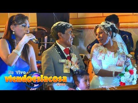 VIDEO: BODA LEANDRO Y ROXANA - HECHICERO (en VIVO)