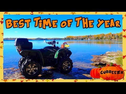 BEST Time Of The Year For An ATV Ride - Autumn Awesomeness - Oct. 6, 2017