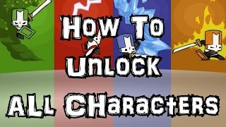 How To Unlock Every Character on Castle Crashes (Hack) Cheat Engine