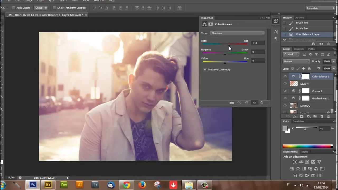 Video's van Sfumare i bordi di una foto con photoshop