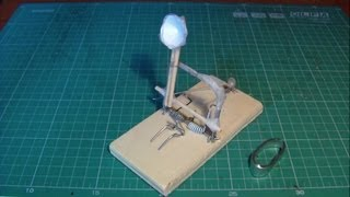 Very Powerful Homemade Mini Catapult