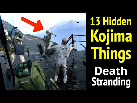 13 Kojima Things You Need To See in Death Stranding: Silver Hunters thumbnail