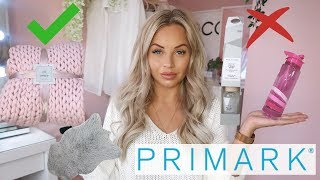 PRIMARK: WHAT TO BUY & WHAT NOT TO BUY | Lucy Jessica Carter