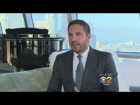 The Agency's Mauricio Umansky Offers Exclusive Look Inside Sky-High Penthouse