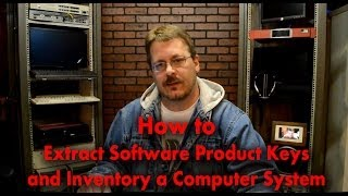 How to Extract Software Product Keys & Inventory From Computer System