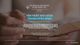 HTTL PHONG THỬ - Chương Trình Thờ Phượng Chúa - 19/09/2021