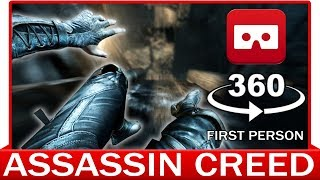 360° VR VIDEO - Assassin Creed in First Person View | Eye of Ezio | Movie Meets Parkour | 3D POV