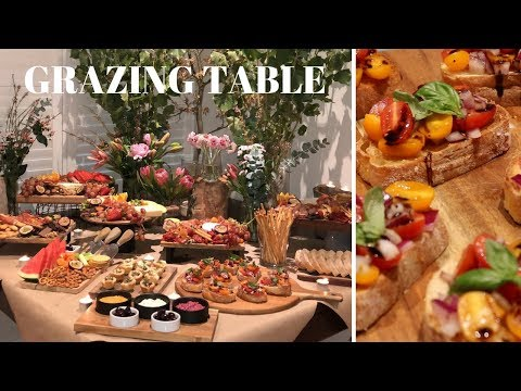 GRAZING TABLE & GRAZING PLATTERS