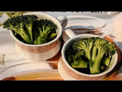 How much broccoli intake is required for preventing cancer
