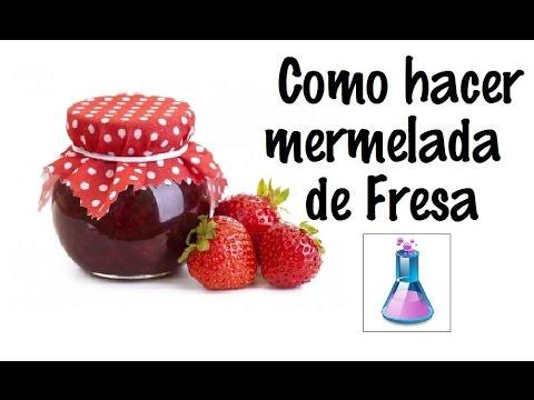 Industria alimenticia: Como hacer mermelada de fresas comercial, producto  para negocio- PHF