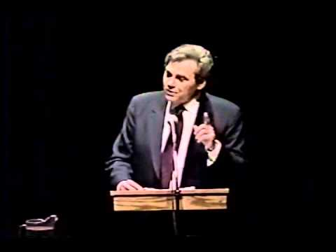 """College Lecture Series - Neil Postman - """"The Surrender of Culture to Technology"""""""