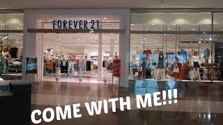 FOREVER 21 * COME WITH ME!!