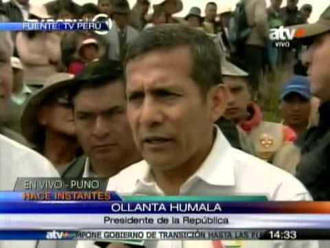 TUTEVE/ Ollanta Humala: Renuncia de Villanueva fue parte de su agenda electoral