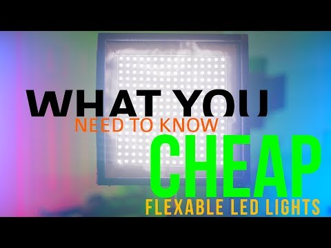 Cheap Flexible LED Light Panel.. Are They Worth Buying? - What You Need to know!