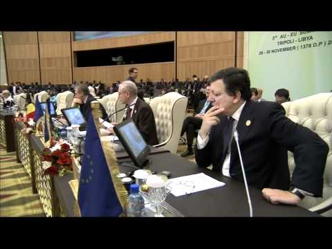 EU-Africa Summit: arrivals and roundtable second plenary session