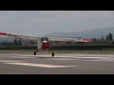 Citabria Crosswind Landing Practice