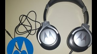 Unboxing of Motorola Pulse MAX Wired Headphones full Review