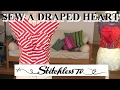 How to sew a Draped Heart TR Cutting Bodice - Sewing Tutorial