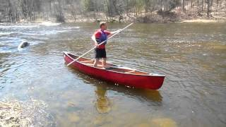 Chip Cochran Canoe Poling Techniques
