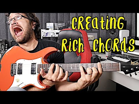 Simple Trick To Create Beautiful Rich Chords
