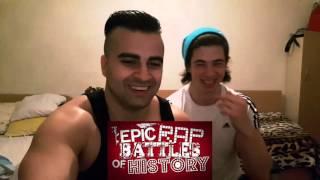 Darth Vader vs Hitler.1-3 Epic Rap Battles of History REACTION