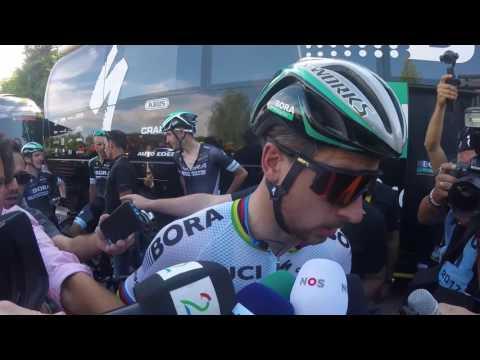 Tour de France: Peter Sagan reacts to crash with Mark Cavendish