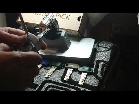 Взлом отмычками MOTTURA C38  New locksmith tools 5 in 1 for MotturaC38 /28C30C39PROTitan K5 /K55+Function spinners.