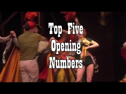 Top Five Opening Numbers: Know the Score