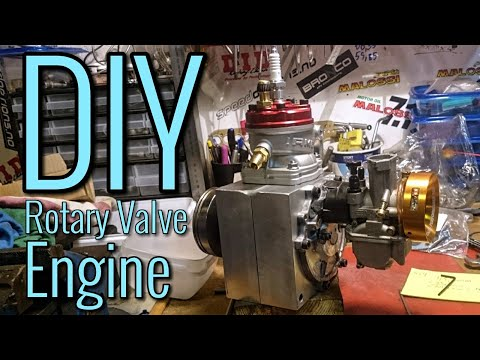 E14 - Homemade Rotary Valve Peugeout Spx Engine Assembly 2STROKE STUFFING
