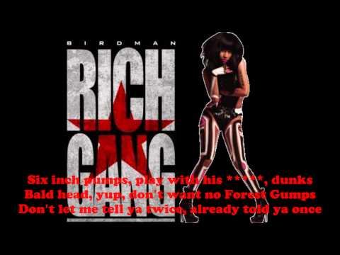 Nicki Minaj  TapOut Lyrics Clean