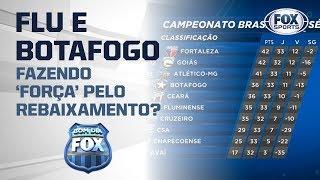 Fluminense e Botafogo fazendo 'força' pelo rebaixamento?