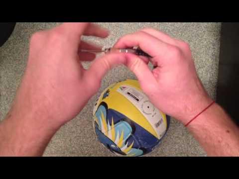 Gonfler un ballon de volleyball explications ballon d gonfl youtube - Comment degonfler un ballon ...