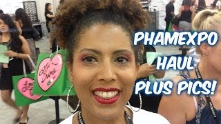 PHAMExpo HAUL - What did I get? - CurlyKimmyStar Thumbnail