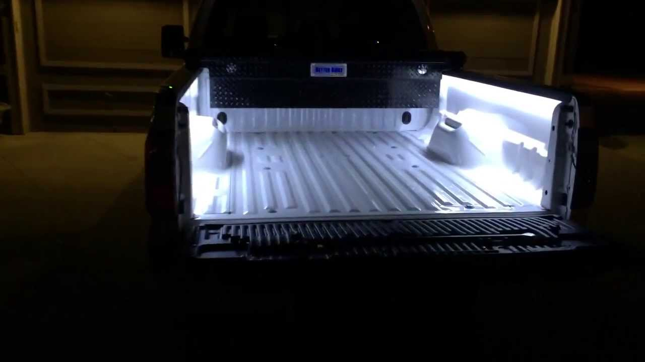 ford pickup bed wiring 2013 f 250 super duty led    bed    lights youtube  2013 f 250 super duty led    bed    lights youtube