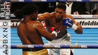 Full Fight | Anthony Joshua Vs Charles Martin KO