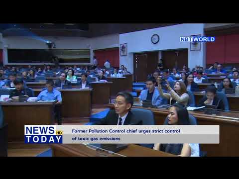 Former Pollution Control chief urges strict control of toxic gas emissions